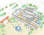 富士山世界遺産センター 設計競技案
